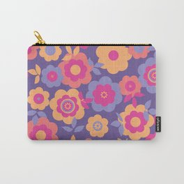 Eilin's Spring Flowers 12 Carry-All Pouch