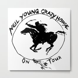 neil young crazy horse on tour 2020 2021 ngamein Metal Print