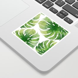 Monstera watercolor I Sticker