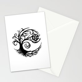 Pentacle Tree Stationery Cards