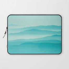 mint sunrise layers Laptop Sleeve