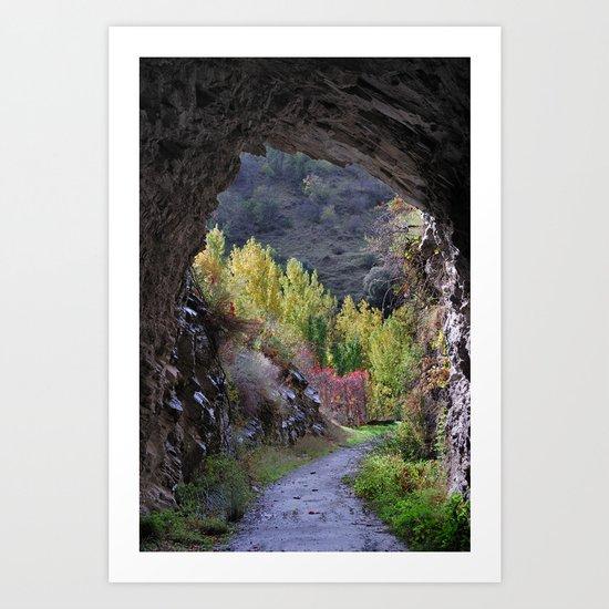 """The cave"" Art Print"