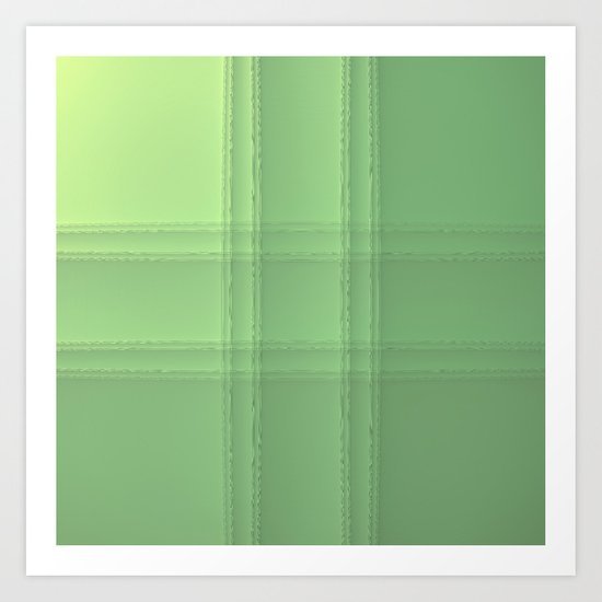 # Green Art Print