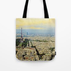Above Paris Tote Bag