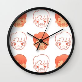 sleepy jongins Wall Clock