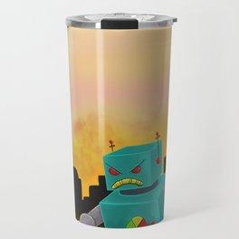 Robot SMASH! Travel Mug