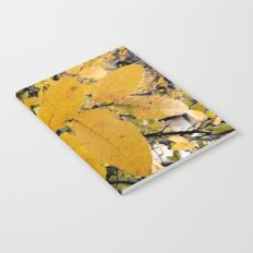 Yellow Leaves of Autumn Notebook
