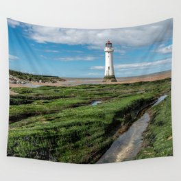 Perch Rock Lighthouse Wall Tapestry