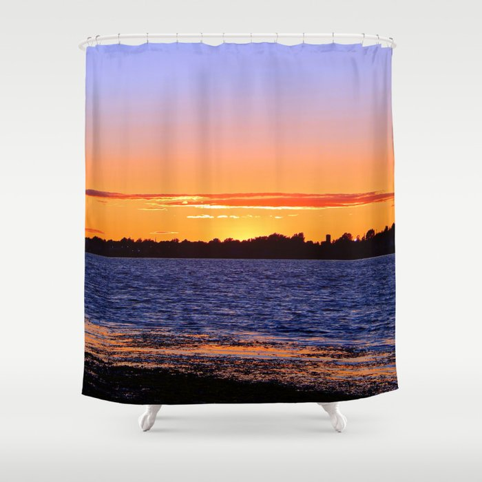 Tequila Sunset Shower Curtain