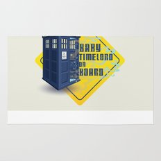 Doctor Who Tardis - Baby Timelord on Board Rug