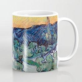 Couple Walking among Olive Trees, Vincent Van Gogh Coffee Mug