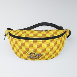Bee Gold Fanny Pack
