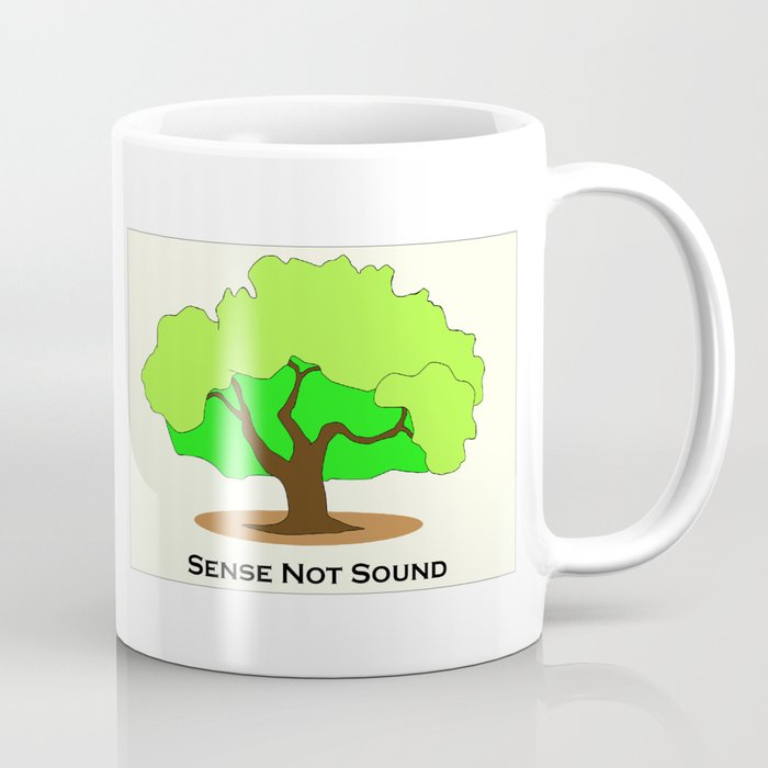 Oak Tree Flag Coffee Mug