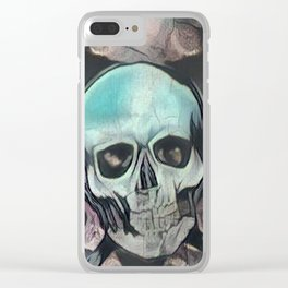 Love & death Clear iPhone Case
