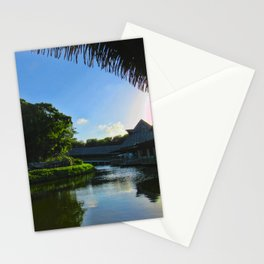 Balcony/Waterfront View Stationery Cards