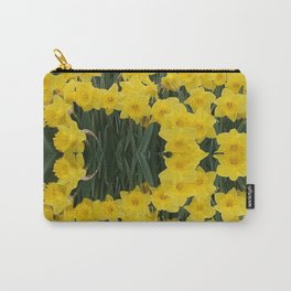 SPRING YELLOW DAFFODILS GARDEN DESIGN Carry-All Pouch
