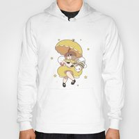 bee and puppycat Hoodies featuring Bee and Puppycat by Kaciel