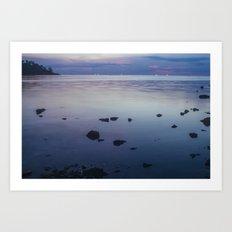 Sunset, Koh Phangan 02 Art Print