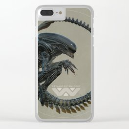 XENOMORPH#01 Clear iPhone Case