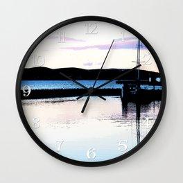 Hoist the Sun Wall Clock
