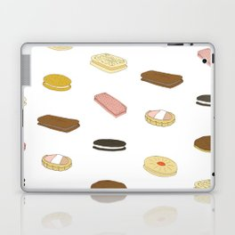 biscui - biscuit pattern Laptop & iPad Skin