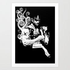 Gear 2 Art Print