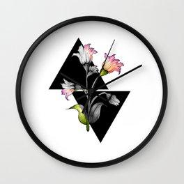 Modern flower design Wall Clock