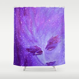 Sueño Cosmico Shower Curtain