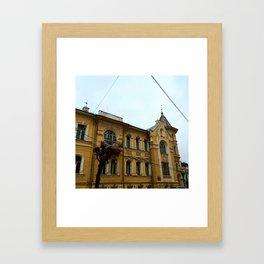 The House XIX century. Framed Art Print