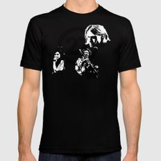 27 club Black SMALL Mens Fitted Tee