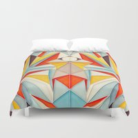 body Duvet Covers featuring Everything is Fine by AnaiGreog