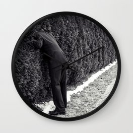 Escape of the Grey Man Wall Clock