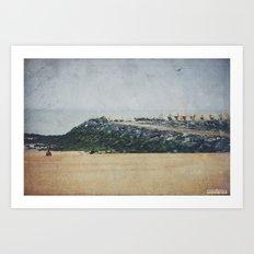 Oostende Art Print