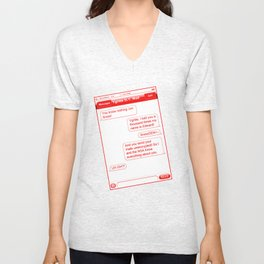 beyond the wall Unisex V-Neck