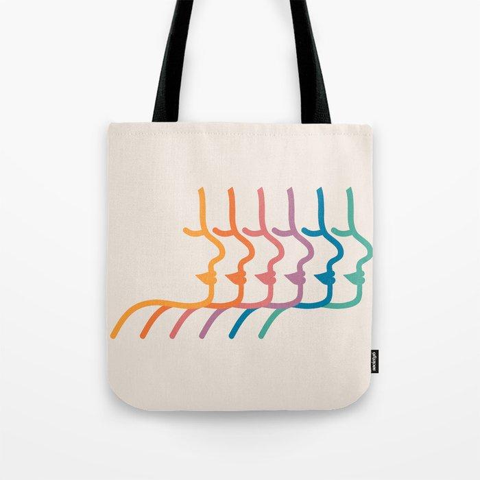 Boca Silhouettes Tote Bag
