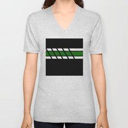 Team Colors 4...Green Unisex V-Neck