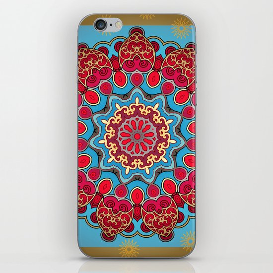 Mix&Match:  Merry Christmas From Tibet (with LOVE!) 03 iPhone & iPod Skin