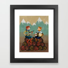 The Foresters Framed Art Print