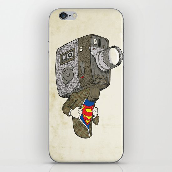 Super8 iPhone & iPod Skin
