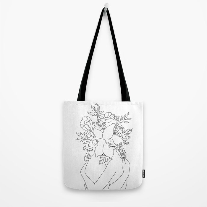 Blossom Hug Tote Bag