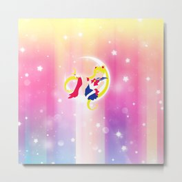 Sailor Moon Metal Print