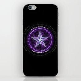 Light Star of Virtues iPhone Skin