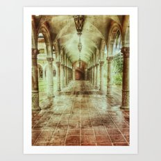 Courtly Art Print