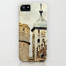 Tower of London Art iPhone Case