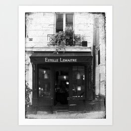 Parisian Shop Art Print