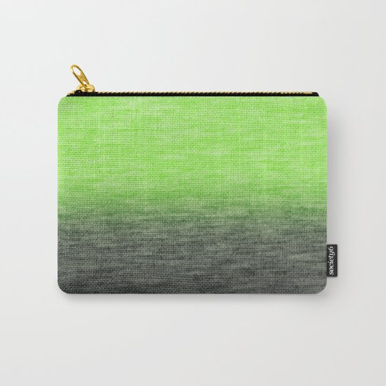 Ombre Lime Carry-All Pouch