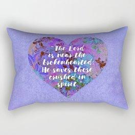 Near the Brokenhearted Rectangular Pillow