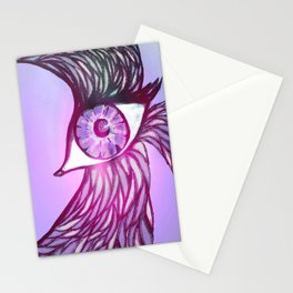 Eye Bird Stationery Cards