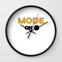 Triathlon competition fun gift Wall Clock