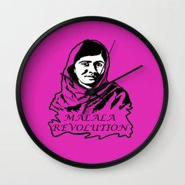 Malala Revolution Wall Clock